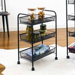 LD01-748-Black   Mobile Cart
