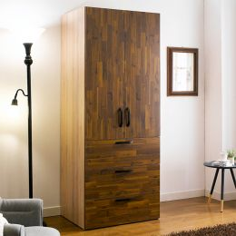 WD-200C-AA  Single Closet w/ 3-Drawer