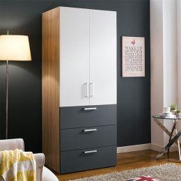 WD-200C-WG  Single Closet w/ 3-Drawer