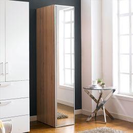 WD-1000-WHT-M  Single Closet w/ Mirror Door