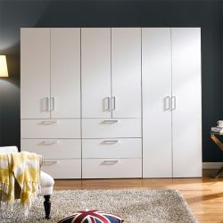 MC-300-WW-Triple  3-Unit Closet