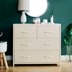 LLC-073-White  Metal Cabinet