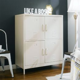LLC-112-White  Metal Cabinet