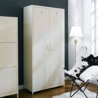 LLC-189-White  Metal Cabinet
