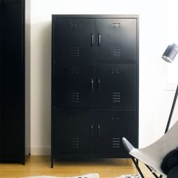 LLC-160-Black  Metal Cabinet