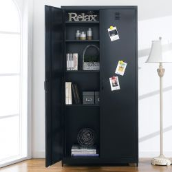 LLC-189-Black  Metal Cabinet