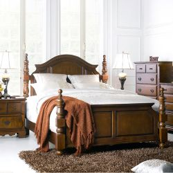 Tori-QB  Queen Panel Bed