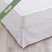 Matt Skirt-White-1100  Mattress Skirt