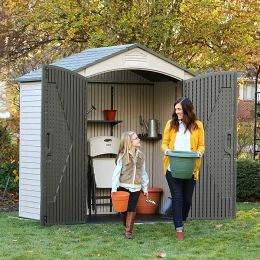 60057  Outdoor Storage Shed