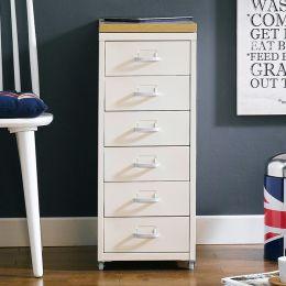 (0) LLC-Z6B-White  Metal Cabinet