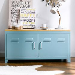 (0)LLC-48-Blue  TV Stand