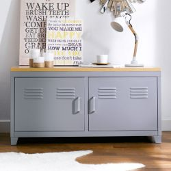 (0)LLC-48-Grey  TV Stand