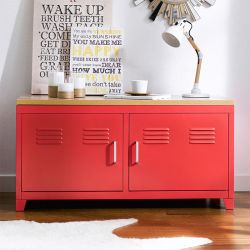 (0)LLC-48-Red  TV Stand