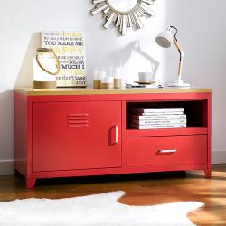 (0)LLC-48A-Red  TV Stand