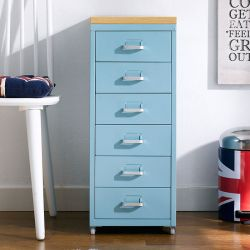 (0) LLC-Z6B-Blue  Metal Cabinet