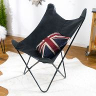 Butterfly-Black  Accent Chair