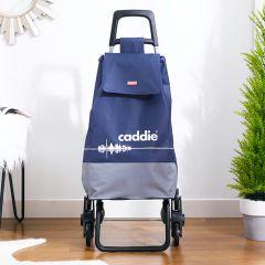 Caddie Trolley-Blue Shopping Trolly