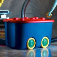 Funny Box-Archino Storage Box   (뚜껑포함)