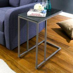 Aspen-300-Grey-Black Marble  Sofa Desk