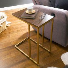 Aspen-300-Gold-Walnut  Sofa Desk