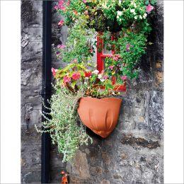 30600  Natura Wall Pot
