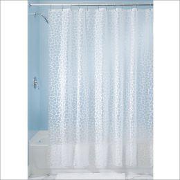 26580EJ  Pebblz PEVA Shower Curtain