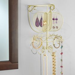 07166EJ  Wall Mount Jewelry Organizer
