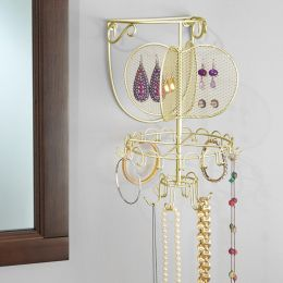 07166EJ  Wall Mount Jewelry Organizer