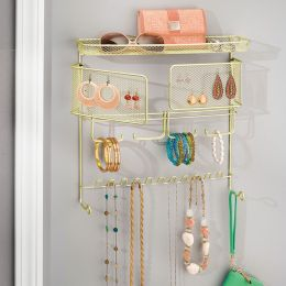 07186EJ  Wall Mount Jewelry Organizer