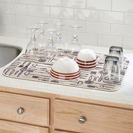 40410EJ  iDry Kitchen Mat Utensils- XLarge 24