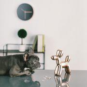 Crazy Dog-Copper Coin Bank  (Big Size)