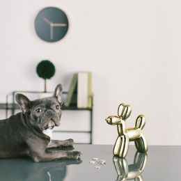 Crazy Dog-Gold Coin Bank  (Big Size)