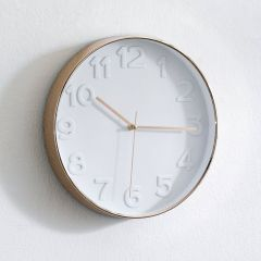 WC-3305-White Wall Clock