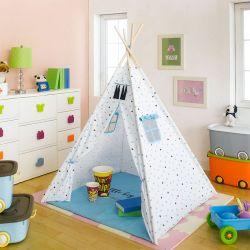 CM-0482-Blue  Teepee Tent