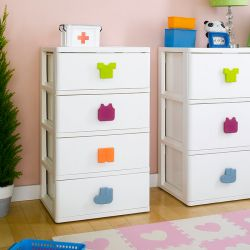 SP-840  4-Drawer Chest w/ Casters