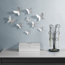 470130-660 Mariposa-Wht-9 Wall Décor