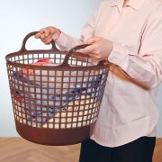 LB-01A-BR Round Basket