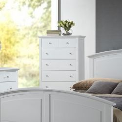 C3226A-030-WH 5-Drawer Chest