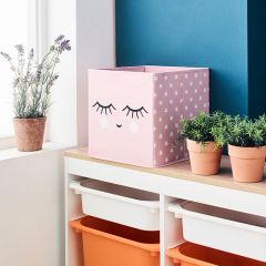 Deco Box-Smile-Pink  Foldable Box