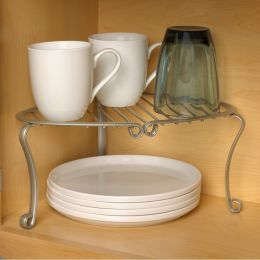 SPC-26777  Corner Shelf-Nickel