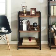SLR-202-Black-Acacia  Wall Unit