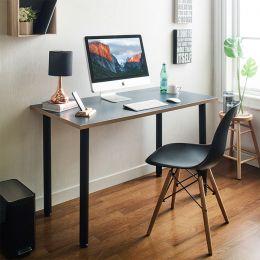 Larry-Grey  Metal Leg Desk
