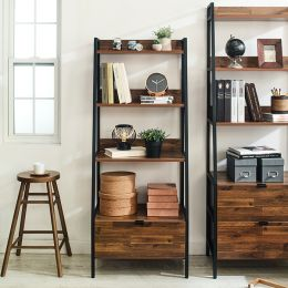 SLR-1D-Black-Acacia Wall Unit  (1-서랍)