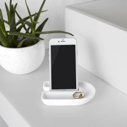 1009279-660  Phone Holder-White