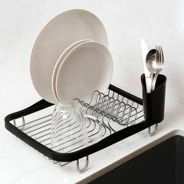 330065-744  Sinkin Dish Rack-SMK/NKL