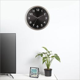 1005476-040  Anytime Clock-Black