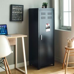 LLC-50-Black  Metal Cabinet