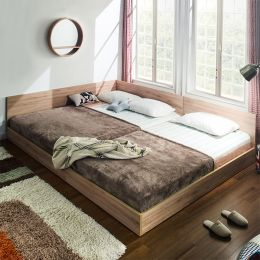 Familia-QSS  Queen+Super Single Panel Bed