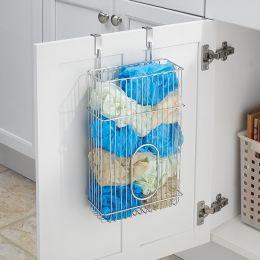 50130EJ  Over Cabinet Bag Holder