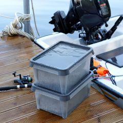 Dry 31-Grey  Storage Box w/ Lid  (뚜껑포함)